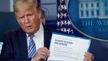 Trump quiere reabrir la economía para el 'Día de Pascua', aunque los casos de coronavirus en EEUU siguen creciendo