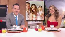 """""""De cuento de hadas"""": Carlos y Maity dan detalles de la fiesta por el primer año de la bebé de Michelle Galván"""