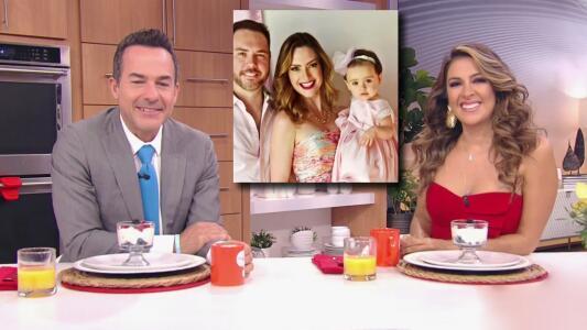 """""""De cuento de hadas"""": detalles de la fiesta por el primer año de la bebé de Michelle Galván"""