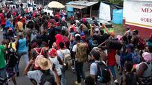 Migrantes en el sur de México optan por atrincherarse y entrar en huelga de hambre para poder continuar rumbo a EEUU