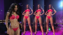 Desfile en bikini de las 30 chicas que recibieron el pase de Nuestra Belleza Latina