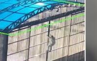 (VIDEO) Fuga de película: Prisionero escapa de una prisión tras 11 años encerrado