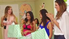 Satcha Pretto le celebró el 'baby shower' a varias futuras mamás