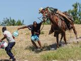 """Mayorkas dijo estar """"horrorizado"""" con imágenes de haitianos perseguidos a caballo y anunció una investigación"""