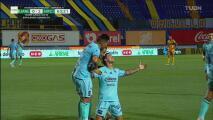 ¡Ya lo consiguió! Giovanni Augusto puso el 0-2 sobre Tigres