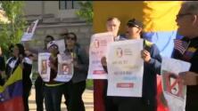 Venezolanos en Filadelfia muestran su apoyo al movimiento contra Nicolás Maduro