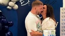 Muy romántica, Clarissa Molina celebra a su novio Vicente Saavedra por su cumpleaños