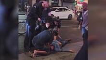 """""""Qué triste ver algo así"""": surge un nuevo video del cruel ataque a un turista en el Paseo de la Fama en Hollywood"""