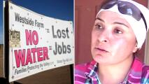 Dejan los campos para irse a la construcción: falta de agua peligra trabajo de inmigrantes en el Valle