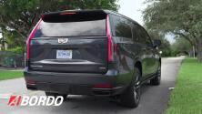 Primer Vistazo: Cadillac Escalade 2021   A Bordo