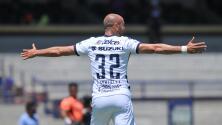 Sentida despedida de Carlos González a la afición de Pumas