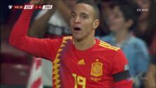 ¡GOOOL! Rodrigo Moreno anota para Spain
