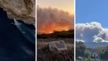 Incendio Alisal destruye más de 15,400 acres y obliga a ampliar evacuaciones en las costas de Santa Barbara