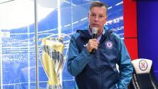 Peláez se despide del Cruz Azul en redes sociales