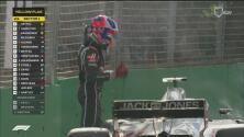 Feos errores de Haas en pits y sus dos autos abandonaron