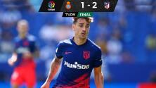 ¡En el último aliento! Atleti vence al Espanyol y es líder en España