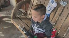 Televidentes cumplen el sueño de Navidad de este niño que construía sus prótesis con lego