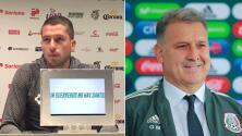 Hugo Nervo está completamente a favor de tener a Gerardo Martino en el Tri
