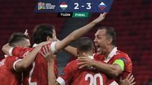 Rusia goleaba y terminó pidiendo la hora ante Hungría