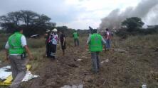 Autoridades creen que las malas condiciones climáticas ocasionaron el accidente de un avión en México