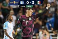 ¡Ganó y pudo ser goleada de escándalo! México derrota 0-3 a Guatemala