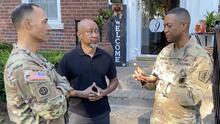 Después de 50 años, este general descubrió que tiene dos hermanos y uno también sirve en el Ejército de EEUU