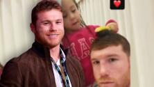 'Canelo' Álvarez derrite las redes sociales con un tierno video en el que su hija lo está peinando