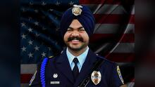 Realizan los servicios fúnebres al oficial caído Harminder Grewal