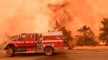 Condados de Lake, Napa y Yolo: los más afectados por los incendios en el norte de California