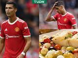 La dieta de Cristiano Ronaldo enoja a sus compañeros en Manchester United