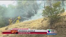 Continúan incendios en el condado Butte