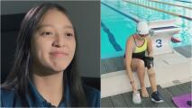 Joven nadadora necesita una prótesis para evitar dolores en su cuerpo