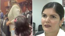 """""""Caí en la trampa"""": diputada de México, señalada por ignorar a una madre que le pedía ayuda, culpa a la oposición de lo ocurrido"""