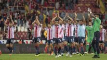 Chivas recupera una racha positiva que no veía hace dos años tras su nueve de nueve