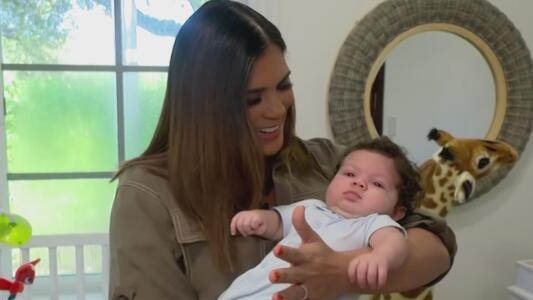 Francisca MOSTRÓ en primicia lo hermoso que está 'baby' Gennaro
