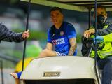 Cruz Azul suma una nueva baja con Luis 'Quik' Mendoza por lesión
