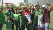 Los mexicanos de Arizona esperan con ansias el pase del Tri a semifinales