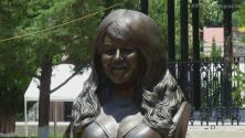 Vandalizaron busto de Jenni Rivera