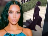La cola de caballo que Kim Kardashian lució en la Met Gala costó 10,000 dólares