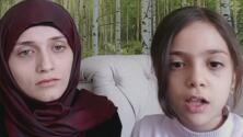 Niña siria envía conmovedor mensaje al mundo para que detengan la guerra en Medio Oriente