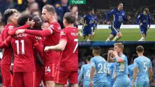 Liverpool golea con un histórico Salah; Chelsea recupera liderato