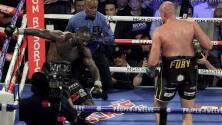 """Fury advierte a Wilder: """"Lo castigaré hasta que diga 'no más'"""""""