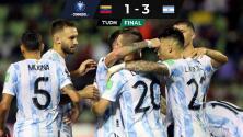 Argentina aprovecha una expulsión para vencer a Venezuela