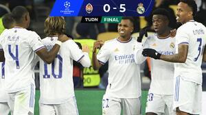 ¡La noche de Vini Jr.! Doblete, asistencia y Real Madrid aplastó al Shakhtar