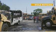 Vandalizan vehículos escolares en Puerto Rico