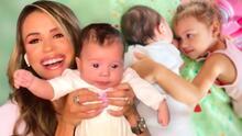 """Con """"el corazón a mil por hora"""", Carolina Sarassa presentó a su bebé Noah por primera vez en televisión"""