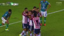¡Vuélvelo a gritar! Gol de cabeza de Alanís con sabor al título de Chivas en la Copa MX