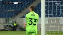 ¡GOOOL! Maximilian Beier anota para TSG 1899 Hoffenheim.