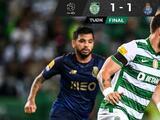 Con asistencia de Tecatito el Porto empata ente Sporting