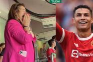 Madre de CR7 rompe en llanto por el regreso de su hijo al United